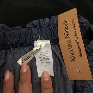 Belted Paper bag Waist Wide Leg Pants
